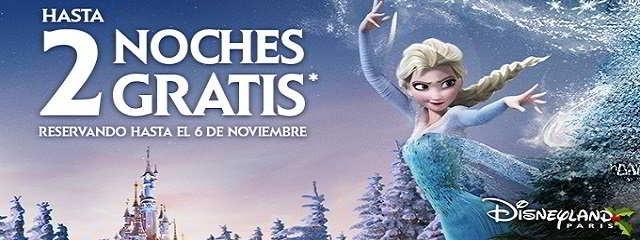 Hasta 2 Noches Gratis en DisneyLand Paris