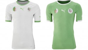Camiseta Argelia Mundial 2014