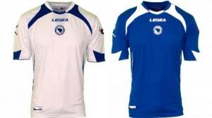 Camiseta Bosnia Mundial 2014