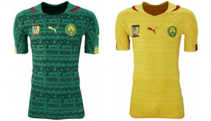 Camiseta mundial 2014 Camerún