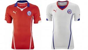 Camiseta Chile Mundial 2014