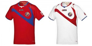 Costa Rica camiseta Mundial
