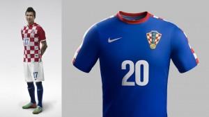 Camiseta Croacia Mundial 2014