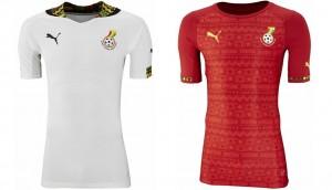 Camiseta Ghana Mundial 2014