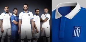 Camiseta Grecia Mundial 2014