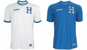Camiseta Honduras Mundial 2014