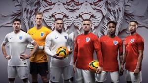 Camiseta Inglaterra Mundial 2014