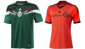Camiseta México Mundial 2014