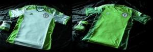 Camiseta Nigeria Mundial 2014