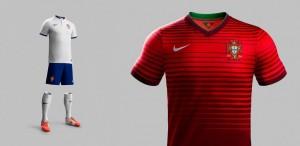 Camiseta Portugal Mundial 2014