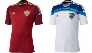 Camiseta Rusia Mundial 2014