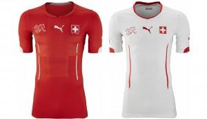 Camiseta Suiza Mundial 2014
