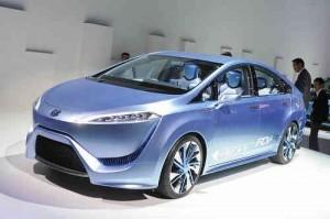 Toyota FCV, un nuevo modelo de coche que funcionara con hidrogeno
