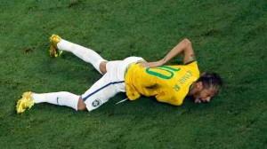 La lesion de Neymar