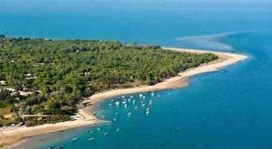 Isla de Re situada en Francia
